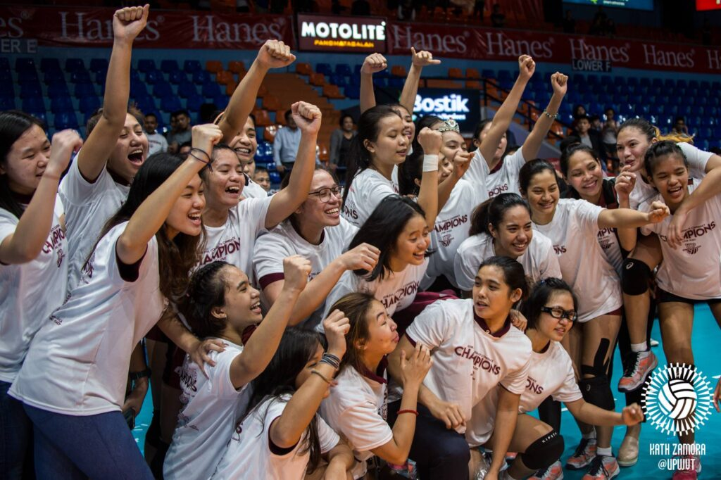 UP Women's Volleyball Team is PVL Collegiate Conference Champions!