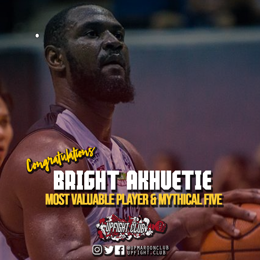 Bright Akhuetie is UAAP Season 81 MVP; Juan GDL Makes Mythical 5!