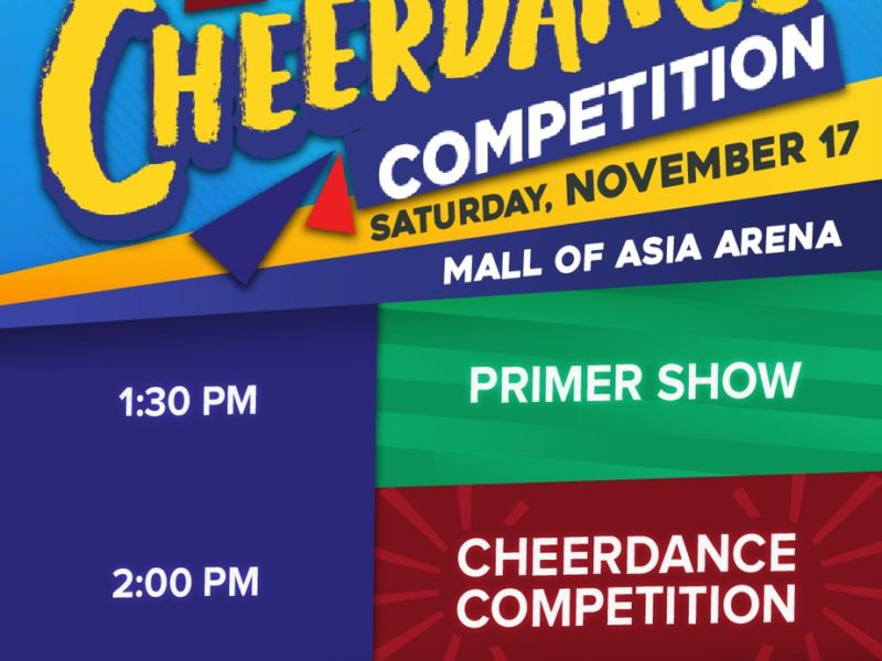WATCH: UAAP Cheerdance Competition 2018 | #UAAPCDC81 Live Stream Telecast