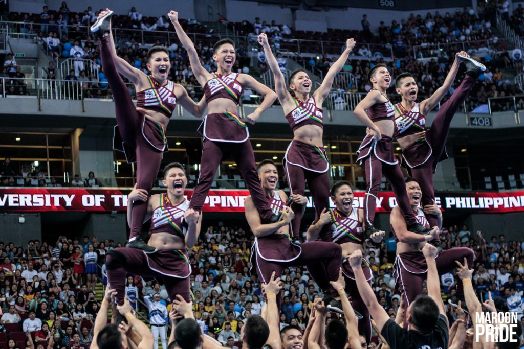 UP Pep Squad Ends #UAAPCDC2018 in 6th Place