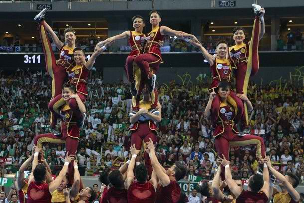 WATCH: UP Pep Squad Relives UAAP Cheerdance Competition Iconic Routines!