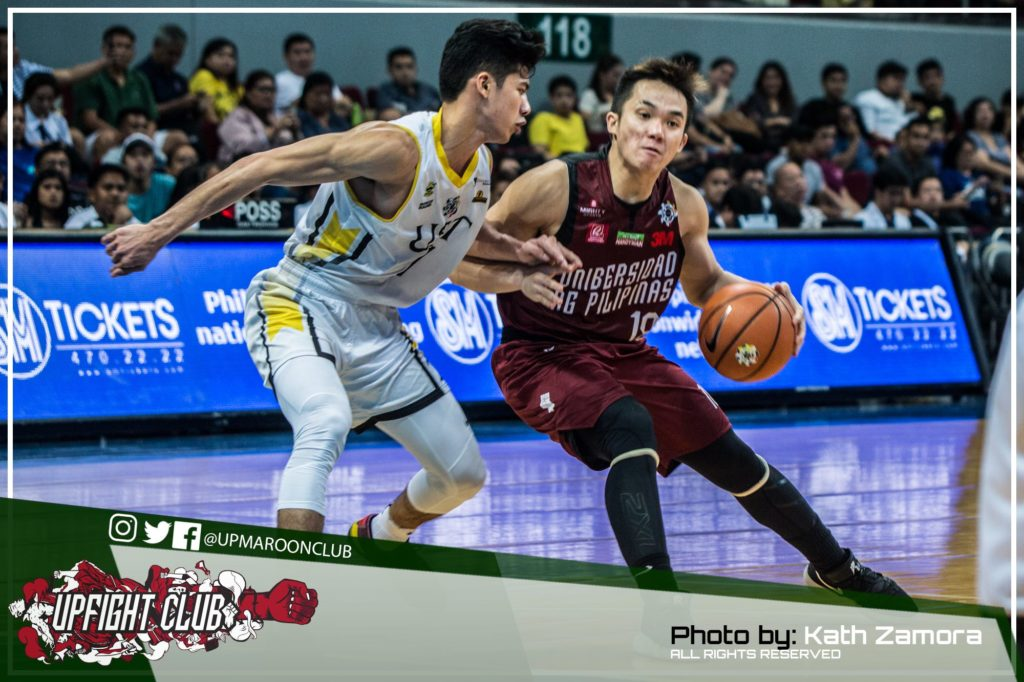 IN PHOTOS: UP Suffers Huge Loss at the Hands of UST, 86-72
