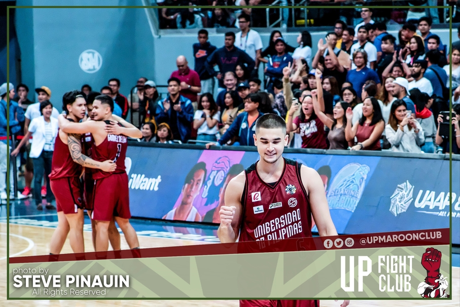 Paras Feels Blessed in UAAP Debut with Maroons
