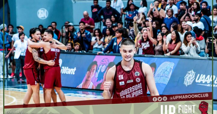 IN PHOTOS [UAAP Season 82 Round 1]: UP Wins Another One Against AdU